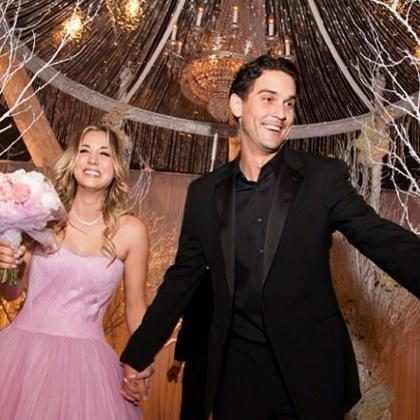 Kaley Cuoco e os detalhes de seu casamento com Ryan Sweeting