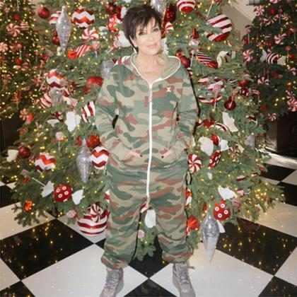 Os momentos natalinos das Kardashians