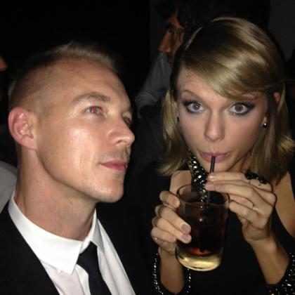 Taylor Swift faz as pazes com Diplo no Grammy Awards 2015