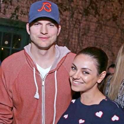 Esta es la verdadera razón por la que no ves fotos de los hijos de Ashton Kutcher y Mila Kunis en redes sociales