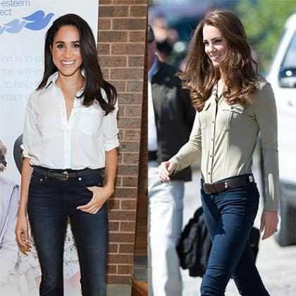 Meghan Markle ultrapassa Kate Middleton como famosa mais bem vestida