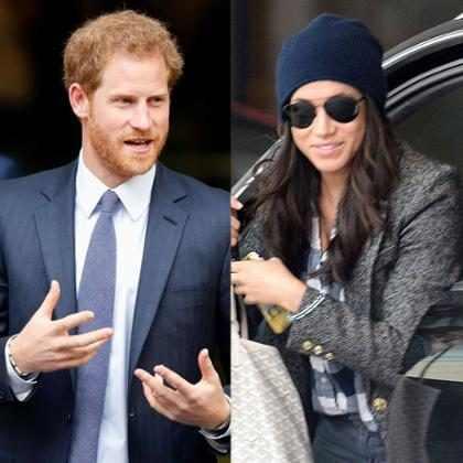 A primeira foto de Príncipe Harry e Meghan Markle como casal