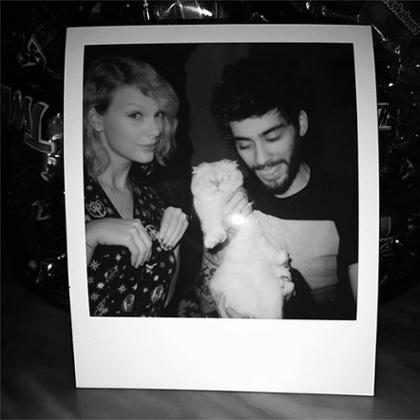 Zayn Malik y Taylor Swift dan rienda suelta a su pasión y destrozan una habitación de hotel