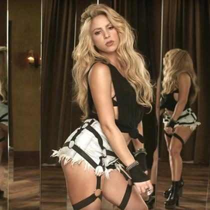 ¡Parece que Shakira quiere convertirse en Sia! (Fotos + Video)