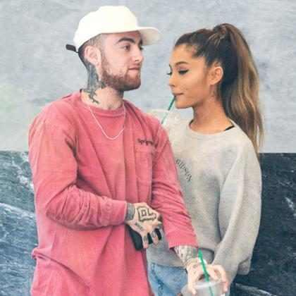 Mac Miller se declara no aniversário de Ariana Grande