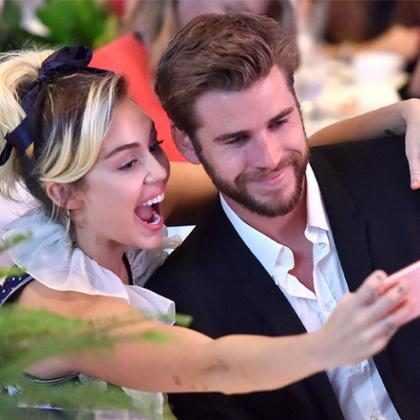 Liam Hemsworth mostra beijo apaixonado de Miley Cyrus em