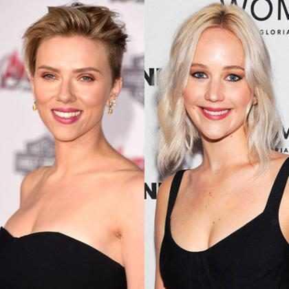 Muy pronto podemos ver, comparar y saber quién lo hace mejor: Scarlett Johansson o Jennifer Lawrence
