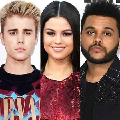 Selena Gomez fica sem graça com piada sobre Justin Bieber e The Weeknd