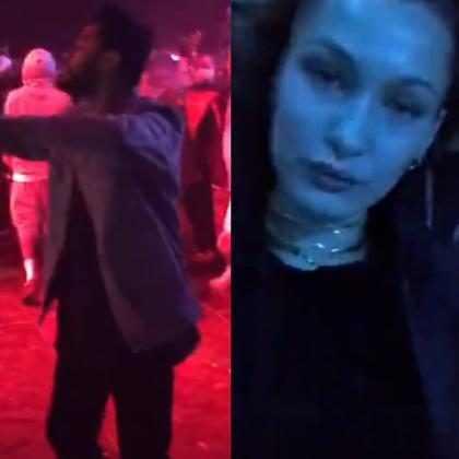 Bella Hadid e The Weeknd vão à mesma festa após flagra com Selena Gomez