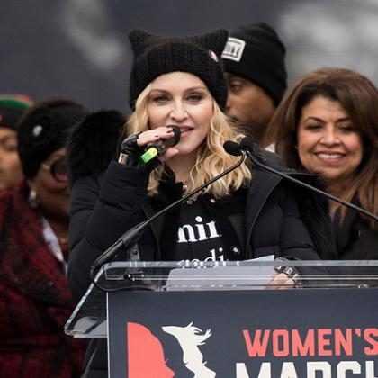 Madonna pode ser presa por causa de seu discurso na Women's March