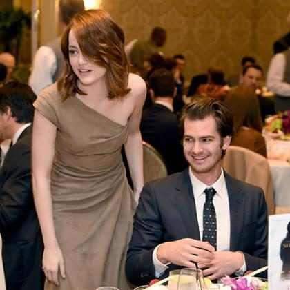 Andrew Garfield mostra todo seu apoio à ex-namorada, Emma Stone