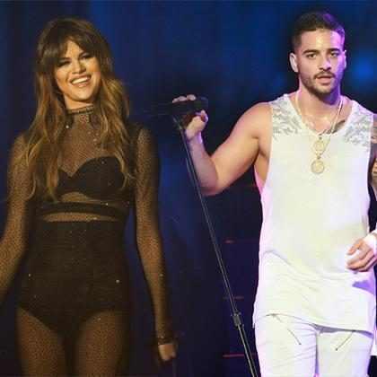 Selena Gómez y Maluma están haciendo que sus fans pierdan la cabeza ¿Qué ocurre entre estos dos?