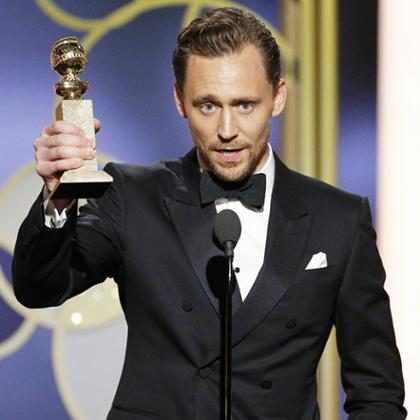 Tom Hiddleston pidió disculpas por su discurso de agradecimiento en los Golden Globes (+ Foto)