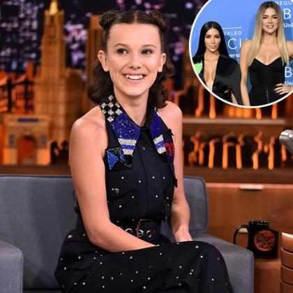 ¡Ver a Millie Bobby Brown imitando a las Kardashian definitivamente será lo mejor de tu día!