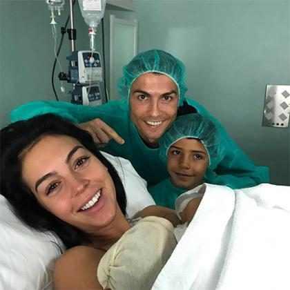 Georgina Rodriguez, namorada de Cristiano Ronaldo, dá à luz quarto filho do jogador