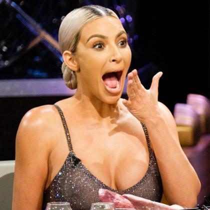 Kim Kardashian bebió un batido de sardinas para evitar hablar de los supuestos embarazos de Khloe y Kylie