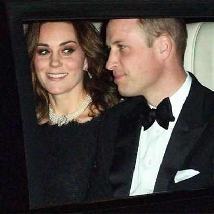Kate Middleton aparece com colar que foi usado por Princesa Diana
