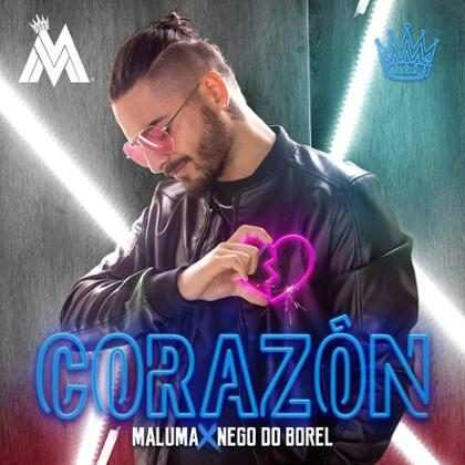 Maluma lança single Corazón, com participação de Nego do Borel