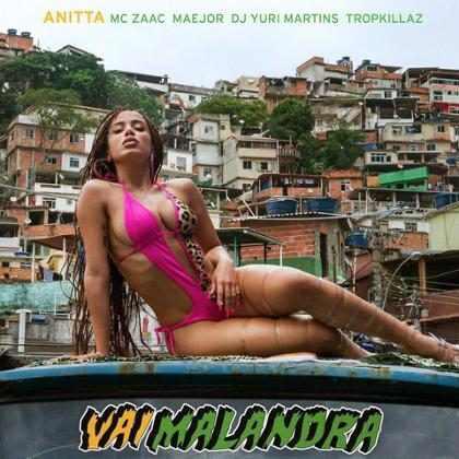 Anitta sensualiza muito no clipe da música Vai Malandra