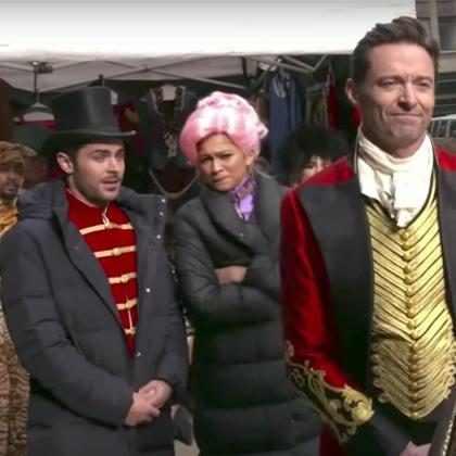 Zac Efron, Hugh Jackman, Zendaya y James Corden se apoderaron de Broadway de una manera épica ¡Míralos!
