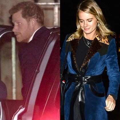 Príncipe Harry é visto em evento com ex Cressida Bonas sem Meghan Markle
