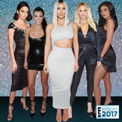 Os melhores momentos das Kardashians em 2017