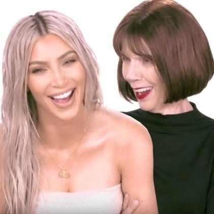 Kim Kardashian y su abuela hablan sobre sus fugaces matrimonios de 2 meses