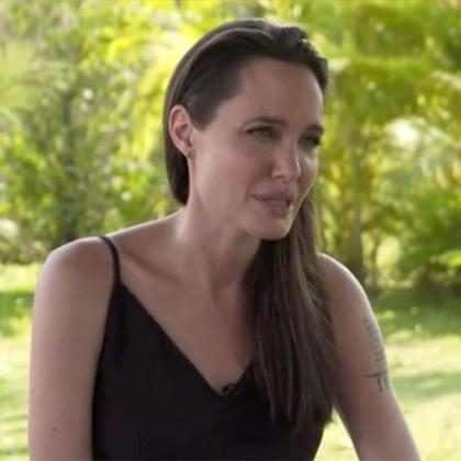 Angelina Jolie rompió el silencio y habló acerca del divorcio de Brad Pitt
