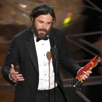 OMG! Casey Affleck hizo algo totalmente imperdonable en los Oscars