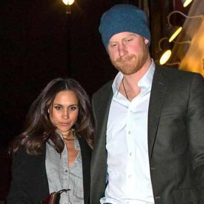 Príncipe Harry e Meghan Markle estão noivos