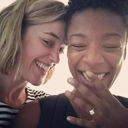Samira Wiley, de Orange Is The New Black, se casa com roteirista da série