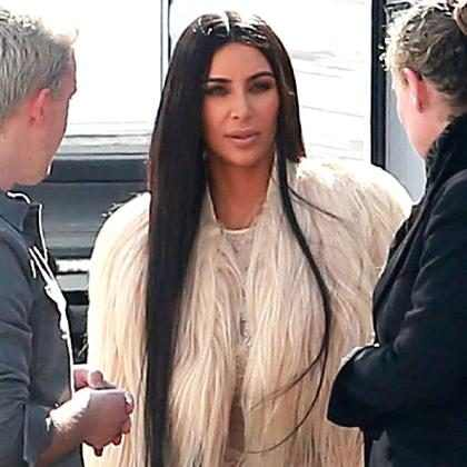 OMG! Kim Kardashian regresa al set de <i>Ocean&rsquo;s Eight</i> (+ Fotos)