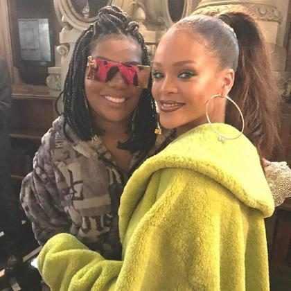 Ludmilla conta como foi seu encontro com Rihanna