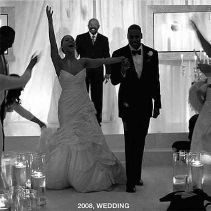 Tina Knowles divulga foto inédita do casamento de Beyoncé e Jay Z