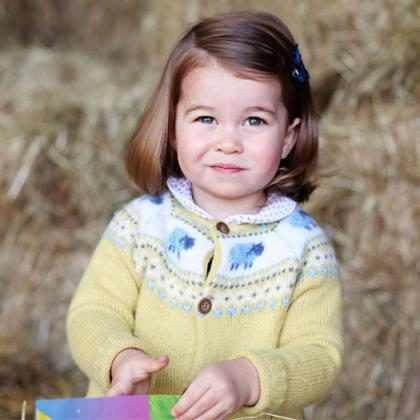 La princesa Charlotte (también) hizo rabietas durante un tour en helicóptero durante su visita a Alemania