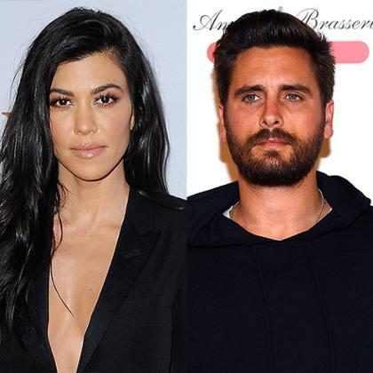 Scott Disick e Kourtney Kardashian não estão se falando