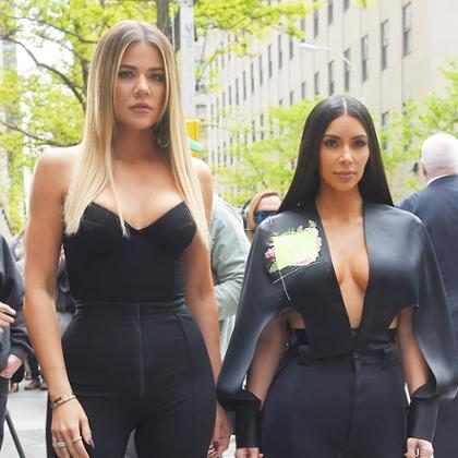 Kim Kardashian se burla de Khloé diciéndole que su ropa es como de Jersey Shore