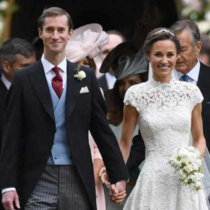 Todos os detalhes sobre a festa de casamento de Pippa Middleton