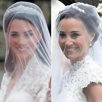 Las bodas de Pippa Middleton y Kate Middleton en números ¿Cuál fue más fabulosa?