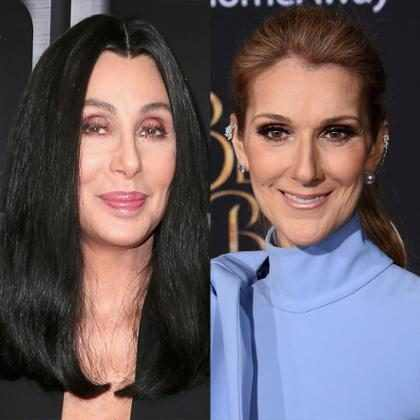 Céline Dion cantou e dançou com Cher nos bastidores do Billboard Music Awards 2017