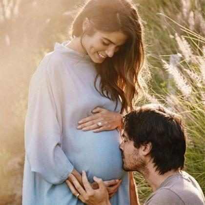 ¡Nikki Reed e Ian Somerhalder ya se convirtieron en padres!