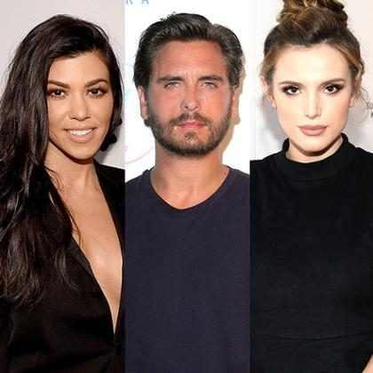 Scott Disick saiu com Bella Thorne para fazer ciúmes em Kourtney Kardashian
