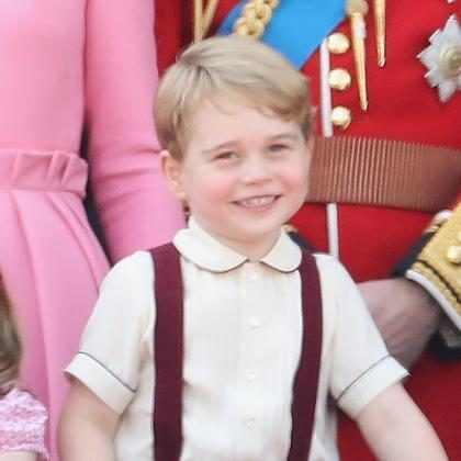 El príncipe George no disfrutó para nada su más reciente viaje y tenemos las pruebas ¡Míralo!