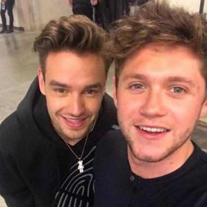 Liam Payne e Niall Horan se reencontram em bastidores de show