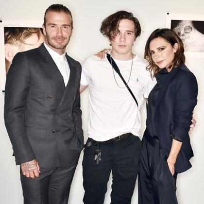 Victoria Beckham está chateada por Brooklyn Beckham ir estudar em Nova York
