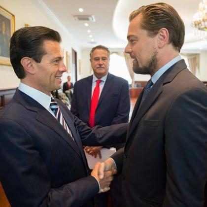 Estos hilarantes memes son los primeros resultados del encuentro entre Enrique Peña Nieto y Leonardo DiCaprio