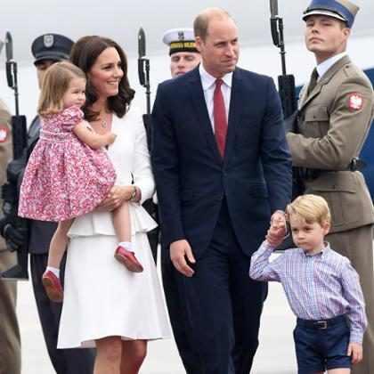 Mira por qué el Príncipe Willian no debería viajar en el mismo avión que George y Charlotte