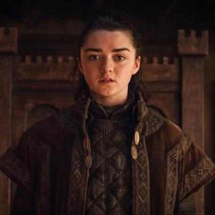 Maisie Williams contou o fim de Game of Thrones para a sua mãe