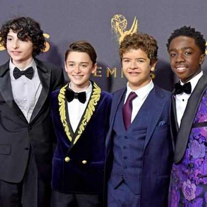 Los chicos de <em>Stranger Things</em> protagonizaron los mejores momentos de los Emmys 2017