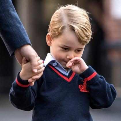 ¡El príncipe George no podrá tener un mejor amigo en la escuela!